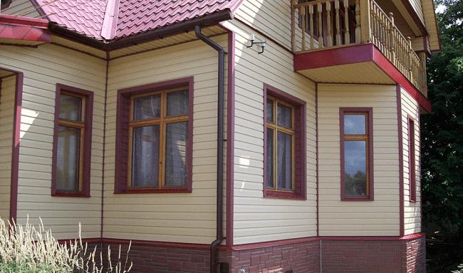 Дом, сайдинг, фото