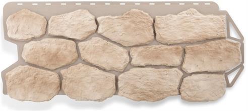 Купить фасадные панели для обшивки дома в виде бутового камня