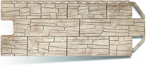 Цены на пластиковый материал для фасада в стиле каньон Аризона от производителя Альта Профиль