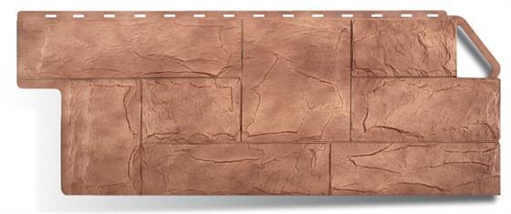 Цена на фасадный материал пластиковых плиток коллекции гранит Карпатский в магазине Альта Профиль
