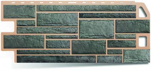 Купить фасадную плитку в виде серого камня в Ростове-на-Дону