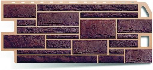 Цены на материал фасадной плитки в виде жженого камня в городе Ростов-на-Дону