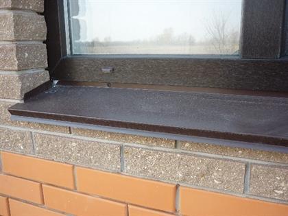 металлический отлив под окно