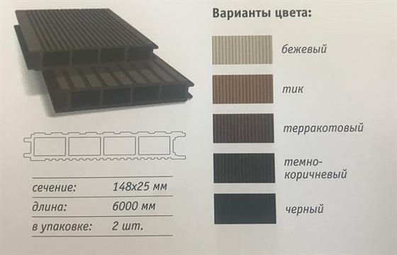 Купить террасную доску из современных материалов в Ростове на Дону