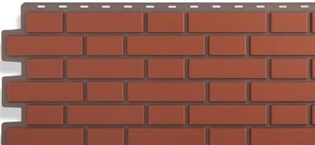 Панели для фасада в виде кирпича