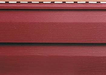 Красный акриловый сайдинг